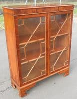 Yew Bookcase Cabinet